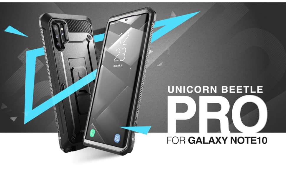 Supcase Unicorn Beetle Pro Full-Body Rugged Case for Samsung Galaxy Note10