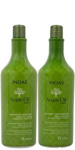 Argan Oil Shampoo and Conditioner 1l/33.8oz Set