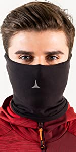 FLEECE NECK WARMER protect your face for dust, wind face mask running balaclava
