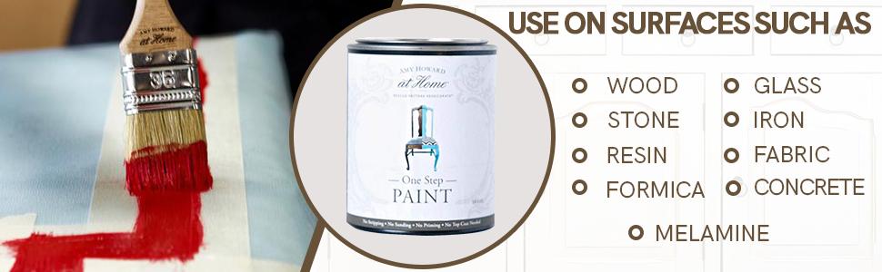 One Step Paint, Chalk Based Paint, Furniture Paint, Cabinet Paint, wood paint, stone paint