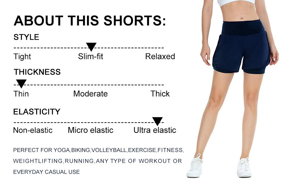 slim fit Training Exercise shorts