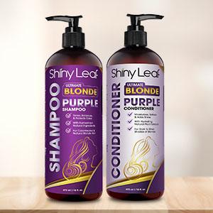 Purple Shampoo and Conditioner Set