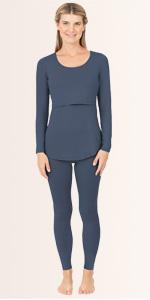 Jane Maternity & Nursing Thermal Pajamas