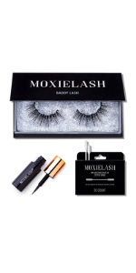 MoxieLash Baddy Kit Magnetic Eyeliner Liquid