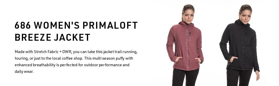 Womens Primaloft Breeze Jacket