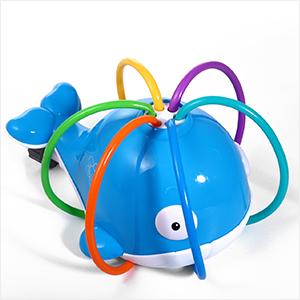 whale sprinkler for kids