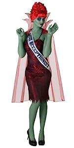 Beetlejuice, miss dead receptionist, costume