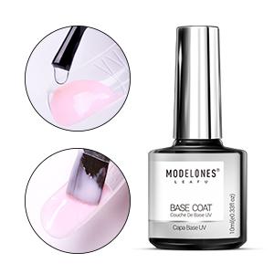 Modelones Poly Nail Gel Kit Glitter Gel Starter Kit with UV led light,Color Changing Pot Gel