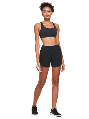 women running short shorts