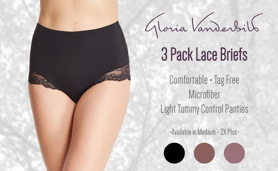 3 Pack Thongs Panties Size XL Microfiber Tagless Comfort bebe Sport