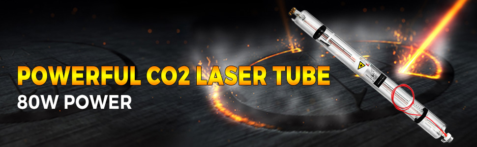 80w laser tube