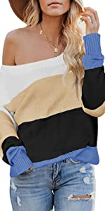 off shoulder sweaters batwing sleeve loose oversized baggy oversized knit