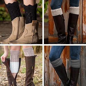 Various Boot Cuffs