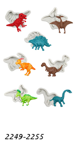 Dinosaurs Molds 7-count
