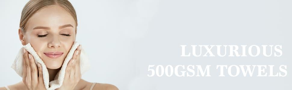 500 gsm towel