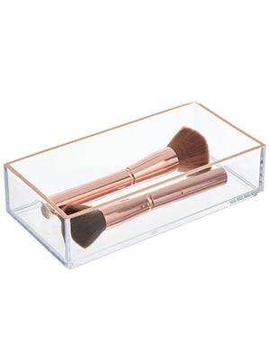 drawer organizer bathroom bath room vanity mirror cabinet cupboard medicine cosmetic beauty tray