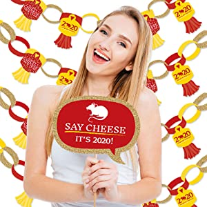 Chinese New Year Photo Booth Ideas