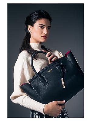 vegan black handbag