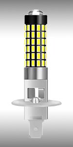 H1 LED Fog Light Bulb 78SMD (1)