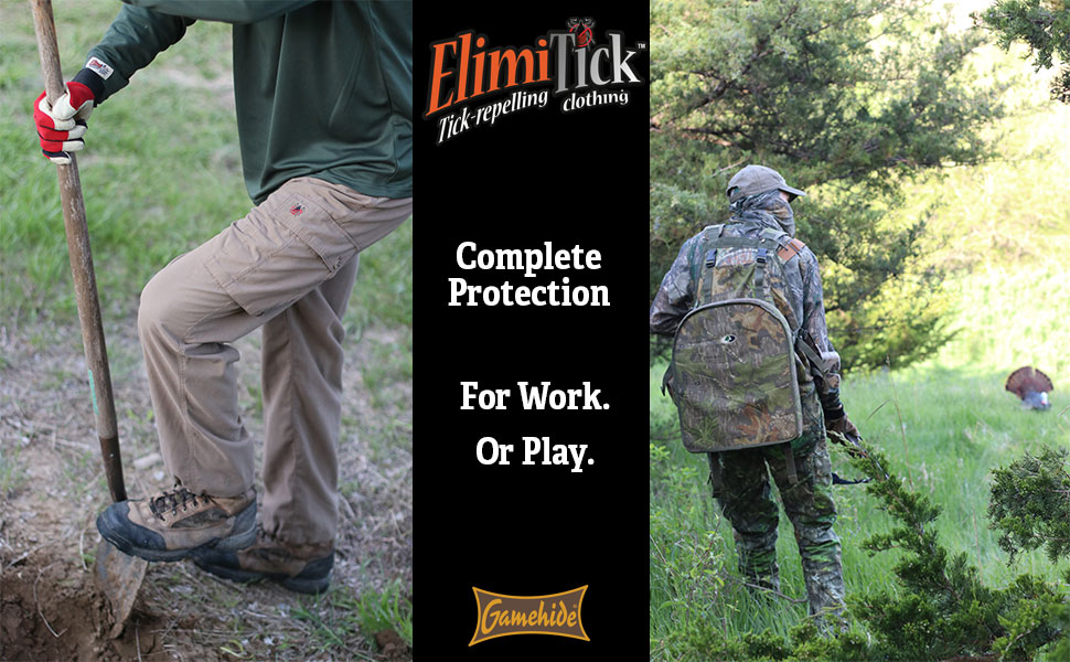 tick proof clothing gamehide elimitick insect shield mosquito repellent bug