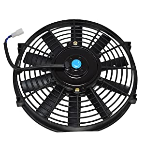 cooling fan automotive electric pusher slim radiator in fans auto volt motor car high universal cool