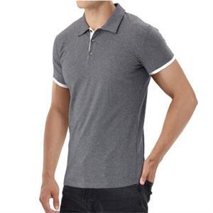 short polo shirt for men