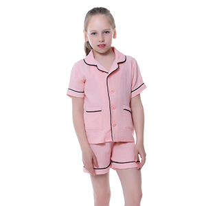 classic retro pajamas for little girl boy kid children
