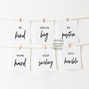quotes wall art