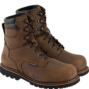 "Thorogood Men's V-Series 8"" Waterproof, Composite Safety Toe Boot"