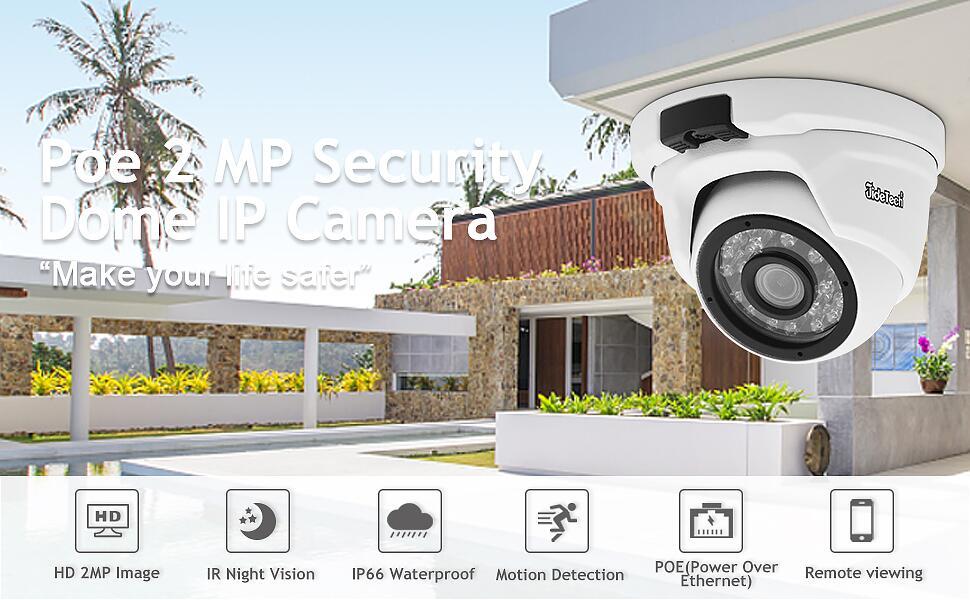 POE IP Camera