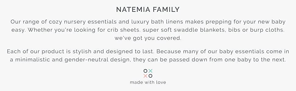 natemia towels washcloths bamboo wipes perfect baby registry shower gist idea