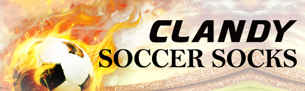 CLANDY soccer socks