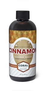 Coral Nano Silver Mouthwash Cinnamon