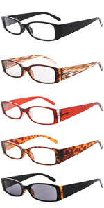 reading glasses women 5 pack