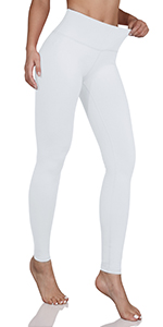 ODODOS mid waist yoga leggings with inner pocket