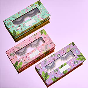 pack glue wispies extension fuax magnet clear mascara flase d wispy grow rainbow and long full eye