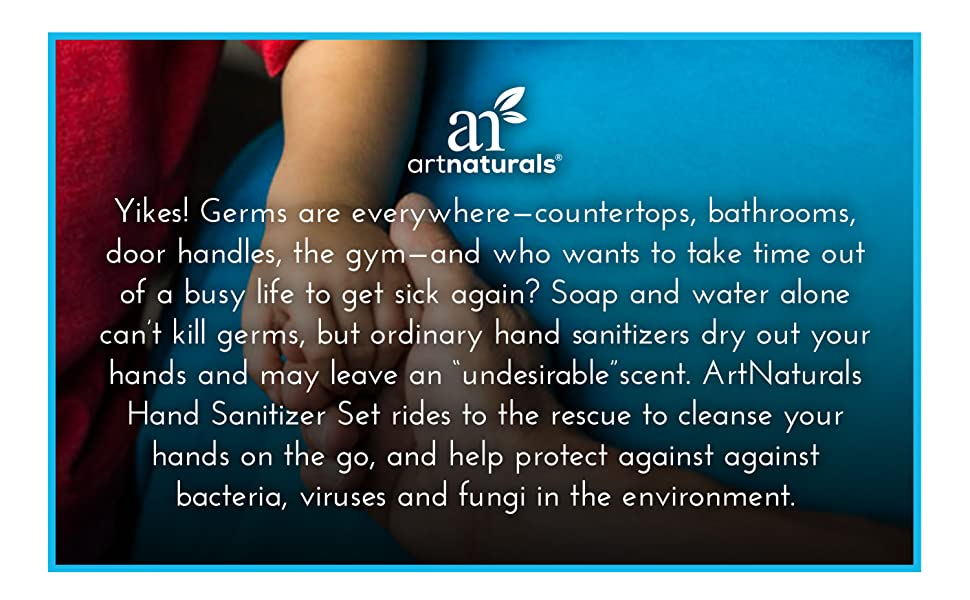 Scent free hand sanitizer