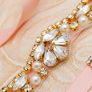 gold bridal belt