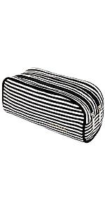 black white pencil case