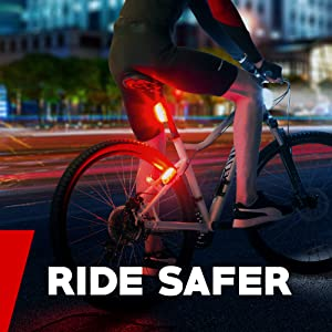 apace vision guard g3x pro100 usb rechargeable bike tail light rear bicycle light