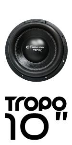 CT Sounds Tropo 10 inch Car Audio subwoofer