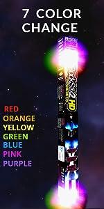 light up drumsticks rock sticks rockstix laser led kids fun drums pro dj