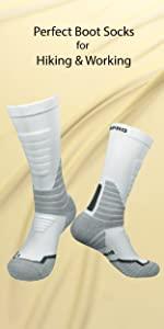 White Boot Socks
