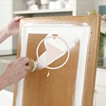 Jolie Cabinet Tutorial Video Paint Cabinets Cabinetry Kitchen Bathroom Matte DIY Finish White