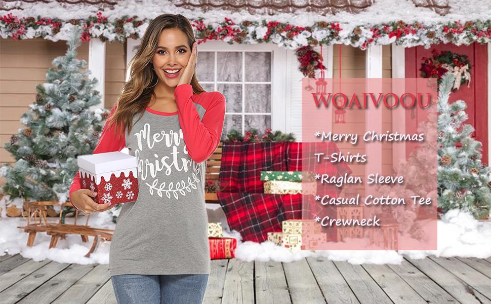 merry christmas shirts blouse girls