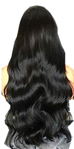 lace front wig human hair