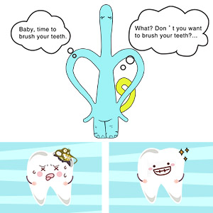 Elephant Infant-to-Toddler Toothbrush