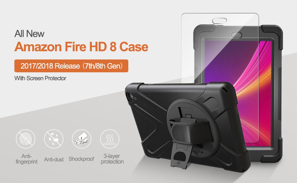 Amazon fire HD 8 2017/2018