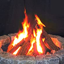 Myard Fire Pit Logs