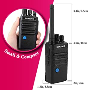 N182S01 two way radio walkie talkie snazuco rechargeable